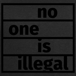 No One is Illegal T-shirts - Mannen sweatshirt van Stanley & Stella