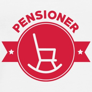 Retirement Pensioner Ruhestand Rentner Retraite Mugs & Drinkware - Men's Premium T-Shirt