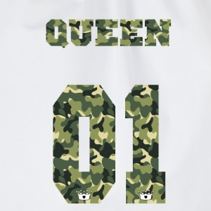 Queen Camouflage - Turnbeutel