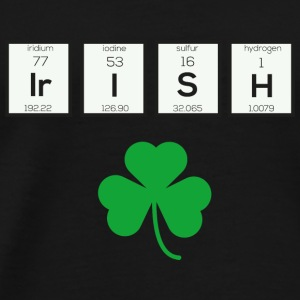 Irish chemical element Sf5yk Baby Long Sleeve Shirts - Men's Premium T-Shirt
