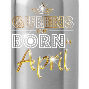 April - Queen - Birthday - 2 Sweaters - Drinkfles