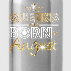 August - Queen - Birthday - 2 Sweaters - Drinkfles