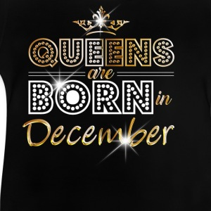 December - Queen - Birthday - 2 T-shirts - Baby-T-shirt