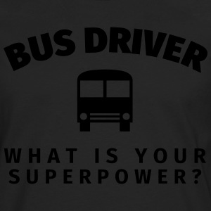 Bus Driver - What is Your T-shirts - Långärmad premium-T-shirt herr