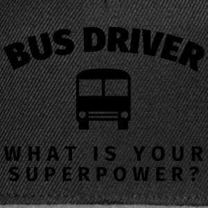 Bus Driver - What is Your T-Shirts - Snapback Cap