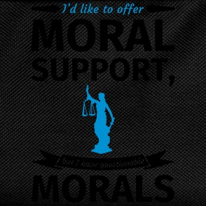 I'd like to offer moral support but I have questio Tee shirts - Sac à dos Enfant