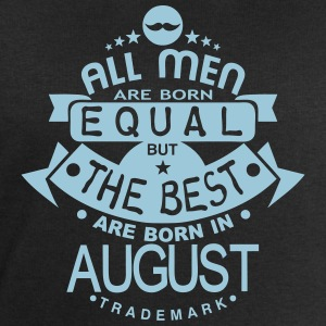 august men equal best born month logo T-Shirts - Men's Sweatshirt by Stanley & Stella