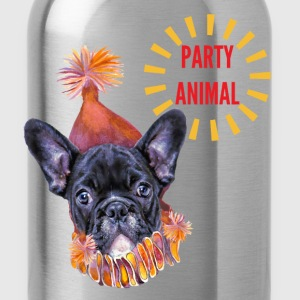 French Bulldog Party T-Shirts - Water Bottle