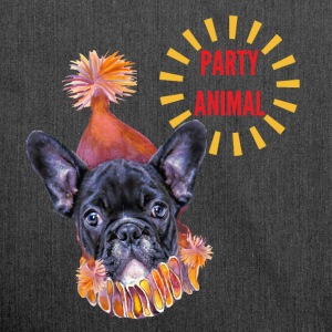 French Bulldog Party T-Shirts - Shoulder Bag made from recycled material