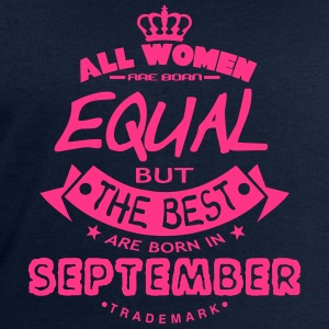 september women equal best born month Long Sleeve Shirts - Men's Sweatshirt by Stanley & Stella