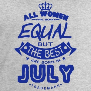 july women equal best born month logo T-Shirts - Men's Sweatshirt by Stanley & Stella
