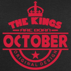 october kings born birth month crown T-Shirts - Men's Sweatshirt by Stanley & Stella