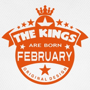 february kings born birth month crown  Aprons - Baseball Cap