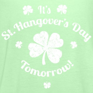 St. Hangover's Day T-Shirts - Women's Tank Top by Bella