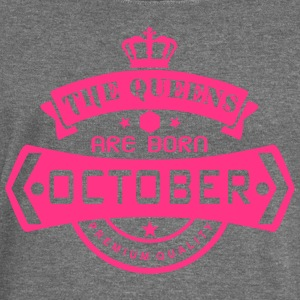 october born queens crown logo Tops - Women's Boat Neck Long Sleeve Top