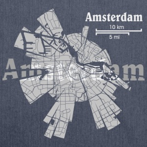 Amsterdam T-Shirts - Shoulder Bag made from recycled material