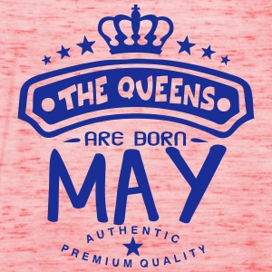 may born queens crown logo T-Shirts - Women's Tank Top by Bella
