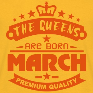 march born queens crown logo Tops - Men's T-Shirt