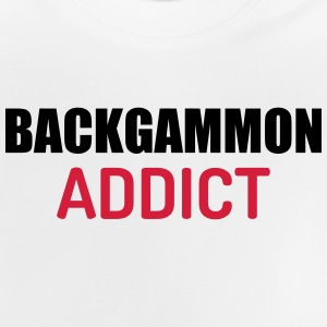 Backgammon Game Spiel Jeu Gamer Play Shirts - Baby T-Shirt