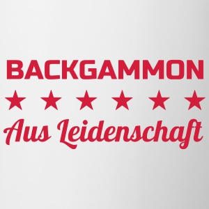 Backgammon / Game / spiller / nørd T-shirts - Kop/krus