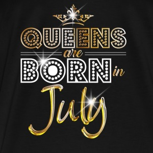 July - Queen - Birthday - 2 Bags & Backpacks - Men's Premium T-Shirt