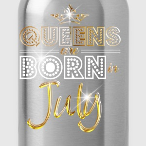July - Queen - Birthday - 2 T-shirts - Drinkfles