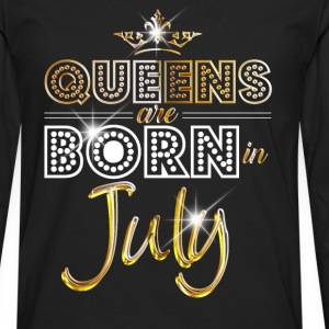 July - Queen - Birthday - 2 Camisetas - Camiseta de manga larga premium hombre