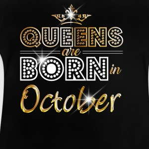 October - Queen - Birthday - 2 Shirts - Baby T-Shirt