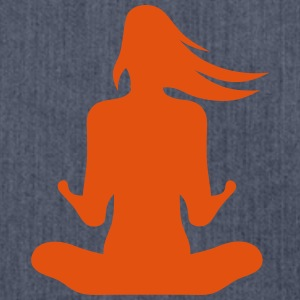 Zen calm yoga 301 T-Shirts - Shoulder Bag made from recycled material