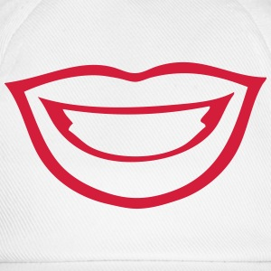 Kissing mouth lips Shirts - Baseball Cap