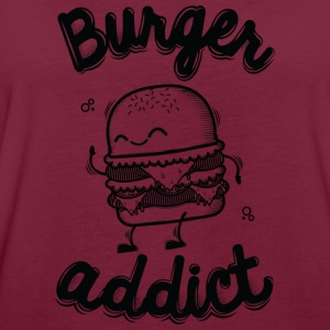 Bordeaux Burger Addict Pullover & Hoodies - Frauen Oversize T-Shirt