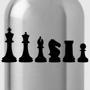 Chess, chess pieces T-Shirts - Water Bottle