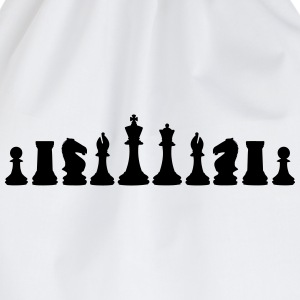 Chess, chess pieces Sweatshirts - Sportstaske