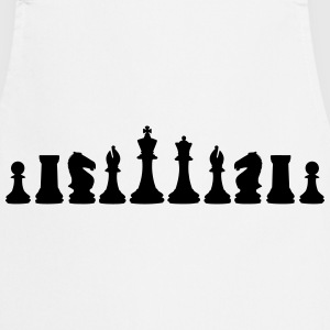 Chess, chess pieces T-shirts - Förkläde