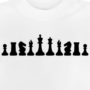 Chess, chess pieces T-shirts - Baby T-shirt