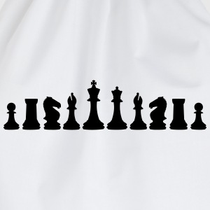Chess, chess pieces T-skjorter - Gymbag