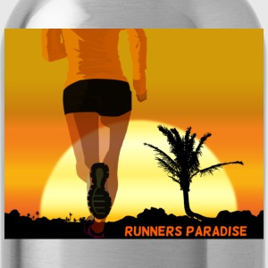 runners paradise - Trinkflasche