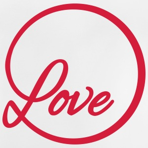 love Liebe circle typography graphic font Shirts - Baby T-Shirt