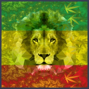 Rasta Lion - Men's Premium Tank Top