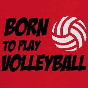Born to play Volleyball Babybody - T-shirt manches longues Bébé