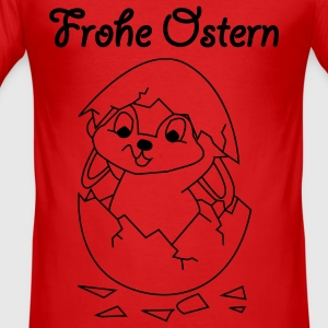 FROHE OSTERN - Happy Easter Baby & Kleinkinder - Männer Slim Fit T-Shirt