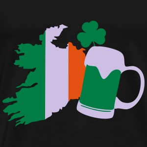Ireland, irish beer, St Patricks Day Sweaters - Mannen Premium T-shirt