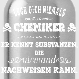 Chemiker - white T-Shirts - Trinkflasche