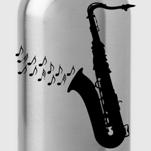 Saxophone / Jazz / Music T-Shirts - Water Bottle