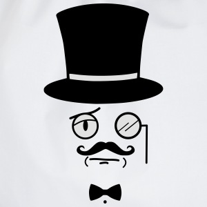 Like A Sir - Gentleman - Sir - Mustage  T-Shirts - Turnbeutel
