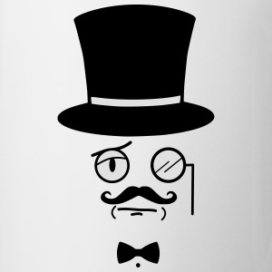 Like A Sir - Gentleman - Sir - Mustage  T-Shirts - Tasse