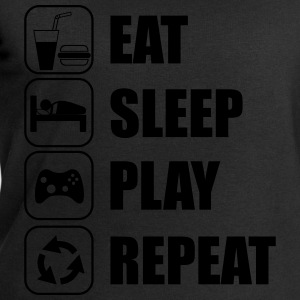 Eat,sleep,play,repeat Gamer Gaming  - Sudadera hombre de Stanley & Stella