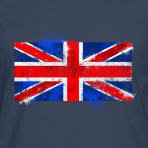 UK flag Tee shirts - T-shirt manches longues Premium Homme