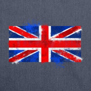 UK flag Tee shirts - Sac bandoulière 100 % recyclé
