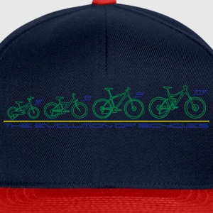 The Evolution of Bicycles Pullover & Hoodies - Snapback Cap